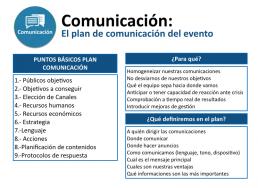 plan de comunicación