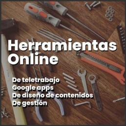 Formació de herramientas online (google apps, diseño de contenidos, canva, trello, teams, etc.)